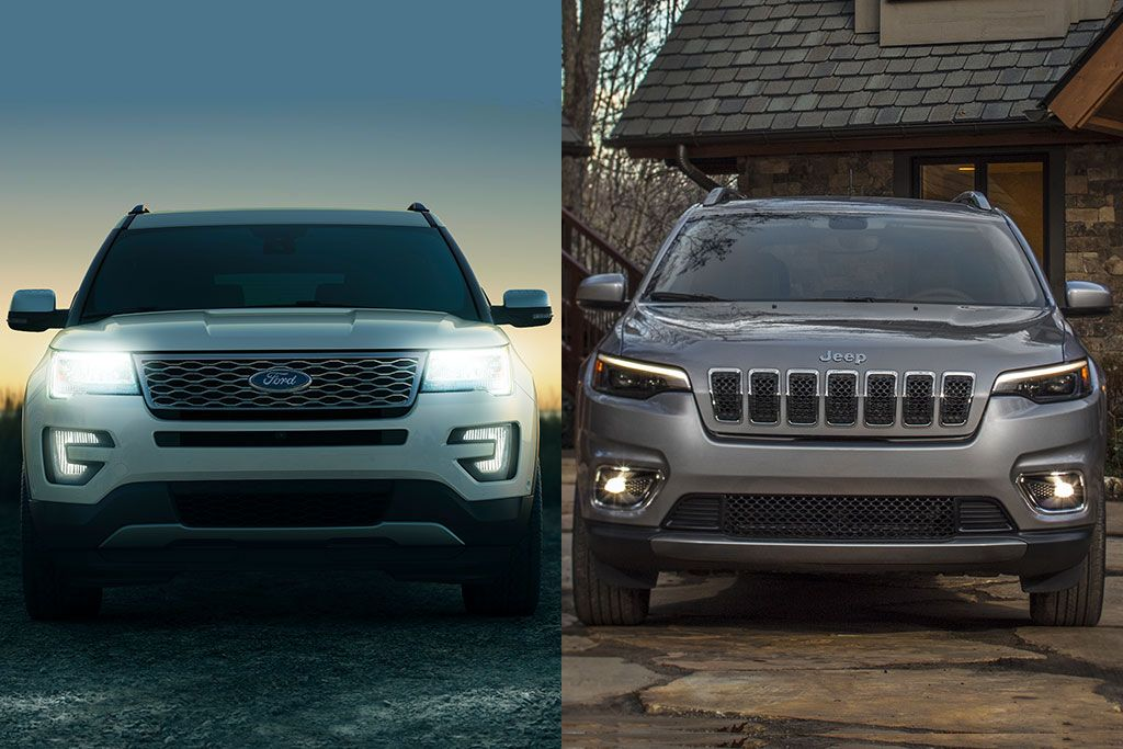 2019 Ford Explorer Vs 2019 Jeep Cherokee Which Is Better