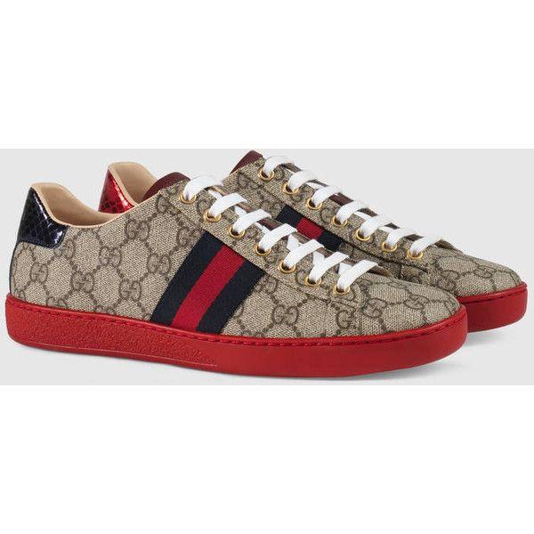 ec5912fe3e8 Gucci Ace Gg Supreme Sneaker (2