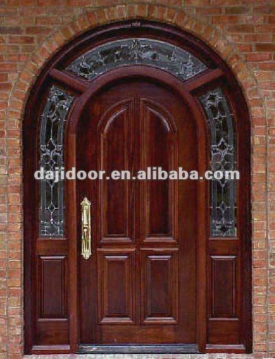 Round Top American Entrance Doors Design Dj S6002m 8 Arched Doors Entrance Door Design Room Door Design