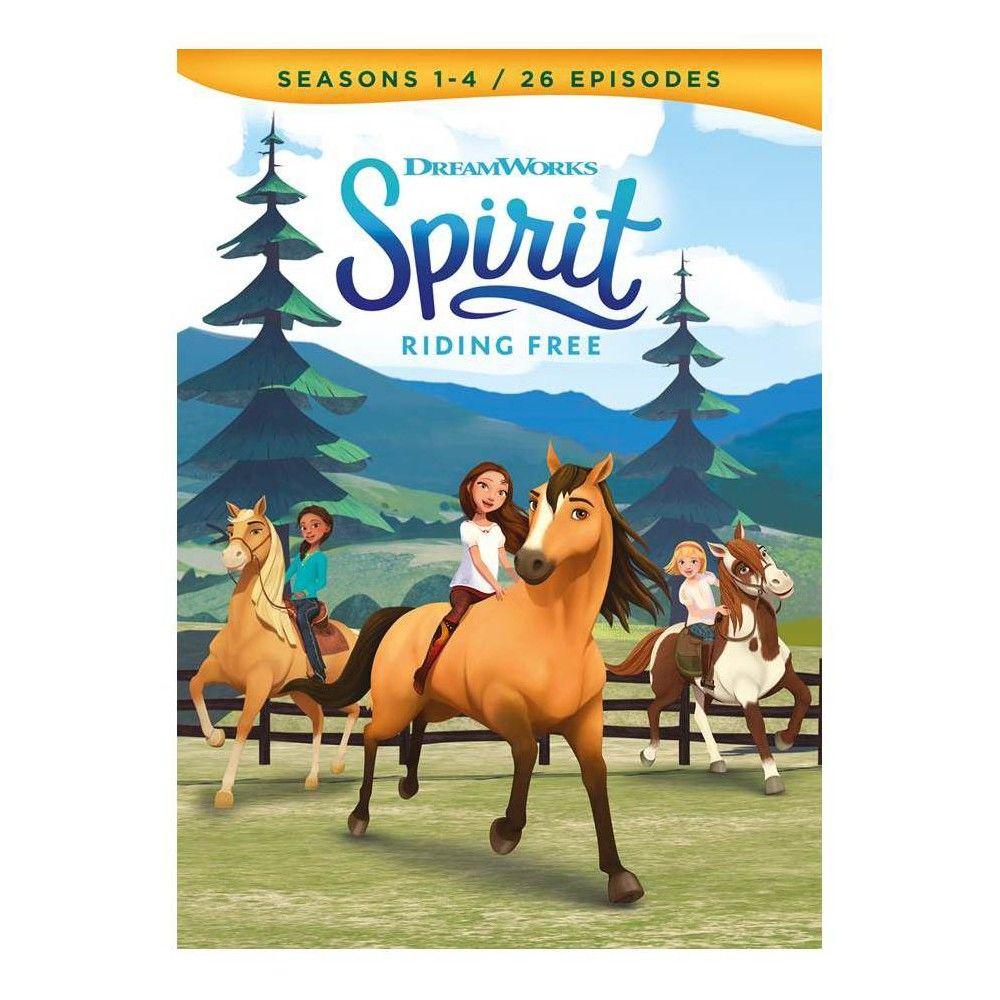 Spirit Riding Free Seasons 1 4 Dvd Cartoon Tv Spirit Seasons