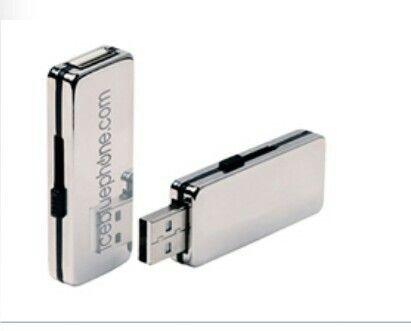 USB Acero. BC31127 (8GB), BC31128 (16GB). Ponle tu marca!