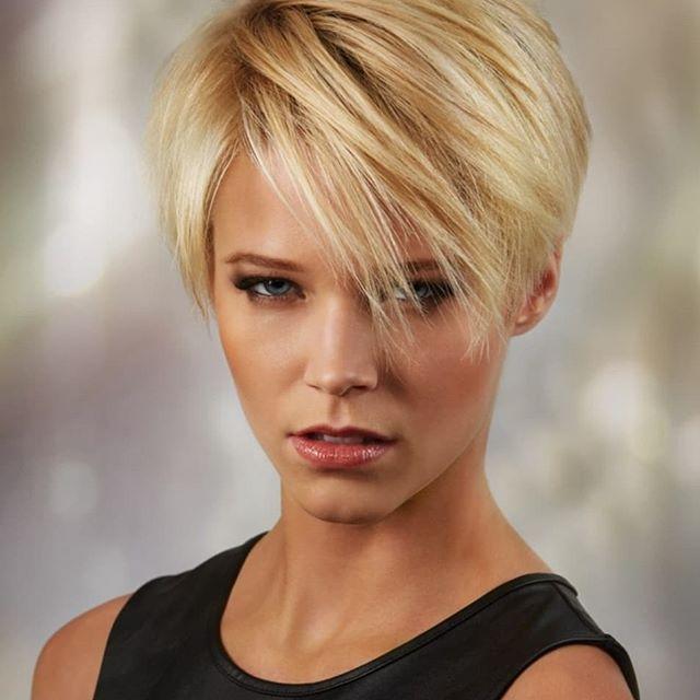 60+ neuer trend der kurzhaarfrisuren blondine in 2020
