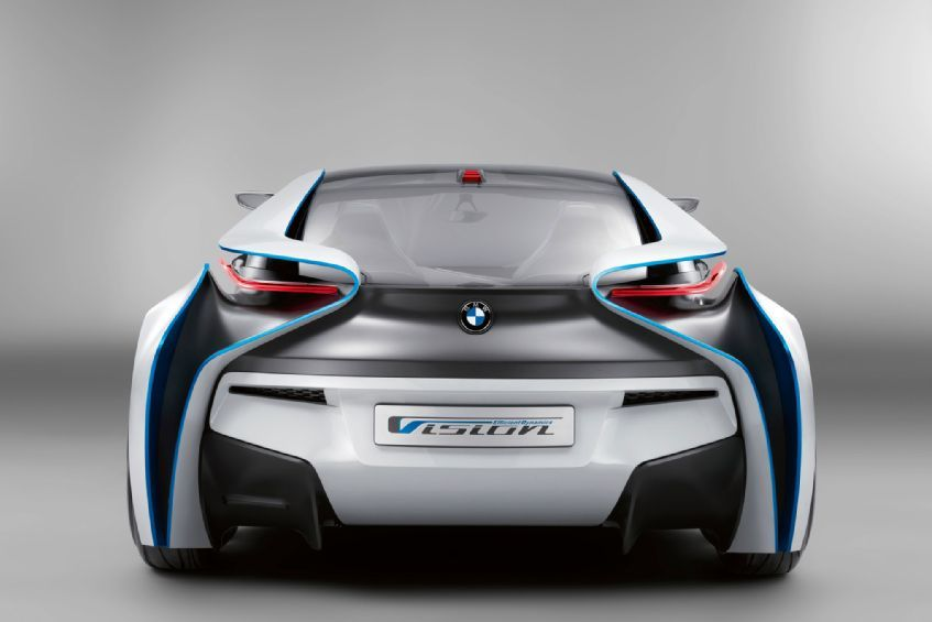 2017 Bmw I8 Rear View 2 Photo 21 450359 Automobile Magazine