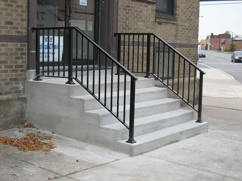 Wrought Iron Black Brown With Images Wrought Iron Stair