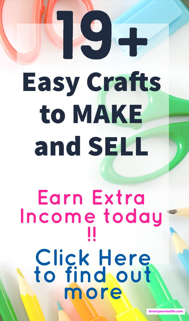 19+ Crafts to make and sell to make money #craftstosell