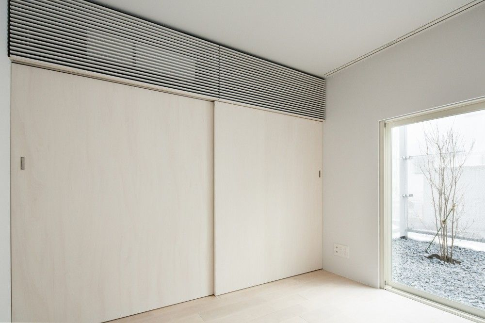 "Transustainable House by SUGAWARADAISUKE ""Location: Chofu, Tokyo, Japan"" 2014"