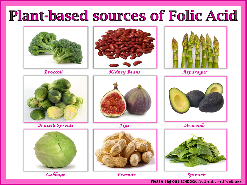 ignore the peanuts not a health food plant based sources of folic acid