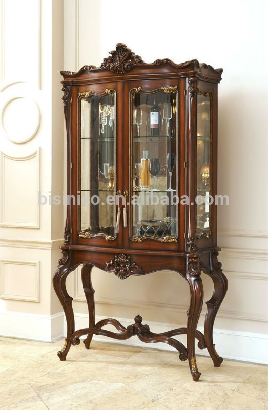 Castle Style Dining Room Furniture Set-Table, Chairs, Buffet, Sidebord, Exquisite Wood Carved Dinning Room Set