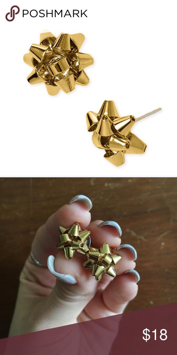 Kate Spade Christmas bow earrings   Bow earrings