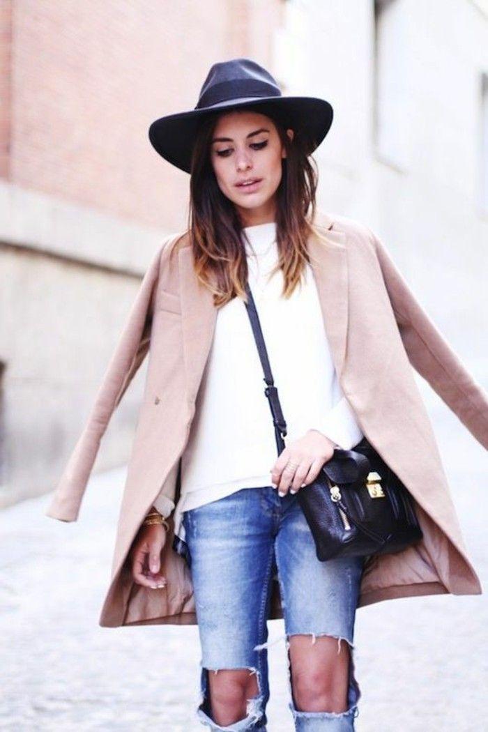 74 Filzhut Designs Fur Modebewusste Damen Damenmode Pinterest
