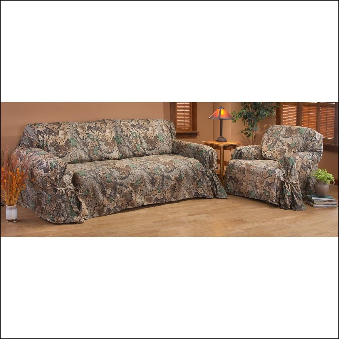 Nice Camo Couch Slipcovers