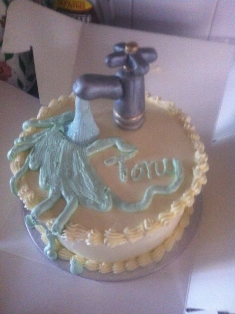 Cindy Alderman Cake Design Tap A Cake For The Plumber