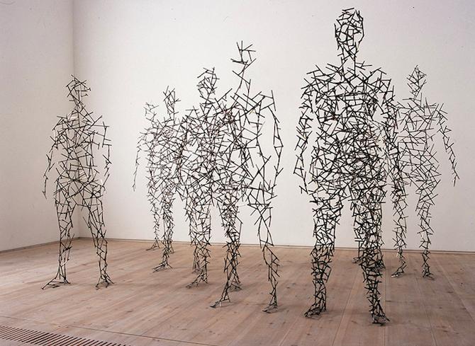 Abstract Human Body Sculptures By Antony Gormley Antony