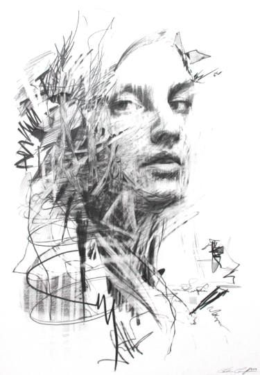 Troubled Thoughts Carne Griffiths