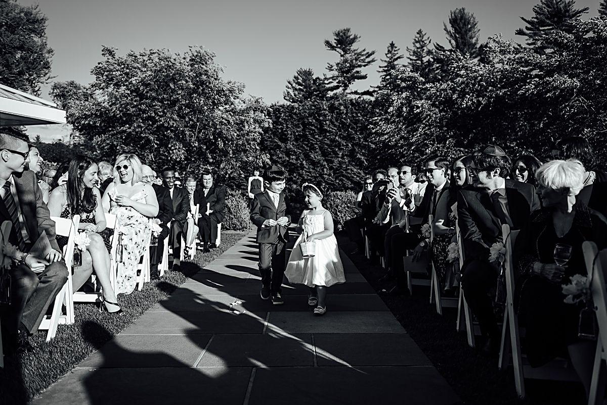 SUMMER WEDDING AT THE GARRISON Hudson valley wedding