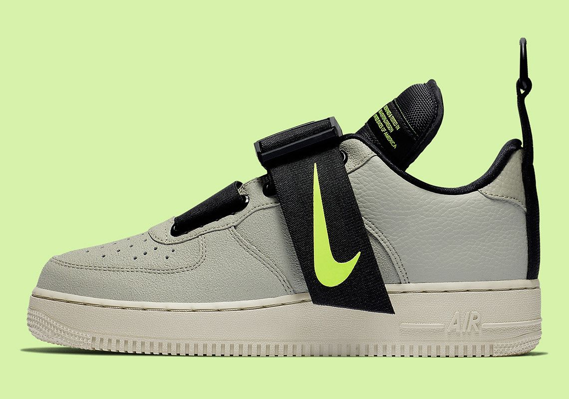 76a4c3d27d The Nike Air Force 1 Utility Arrives In A New Spruce Fog Colorway ...