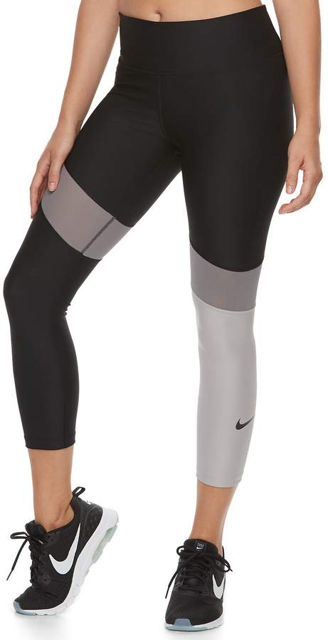 6658374165ff6 Nike Women s Power Training Midrise Capri Leggings