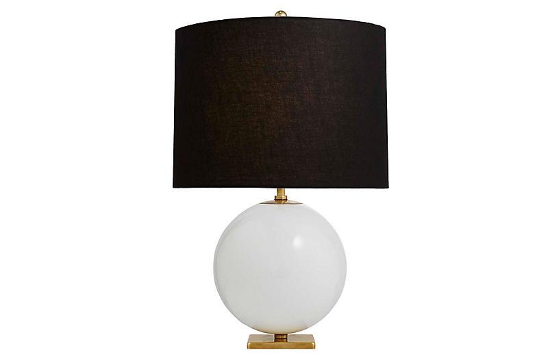 Elsie Table Lamp in Blush | Kate Spade