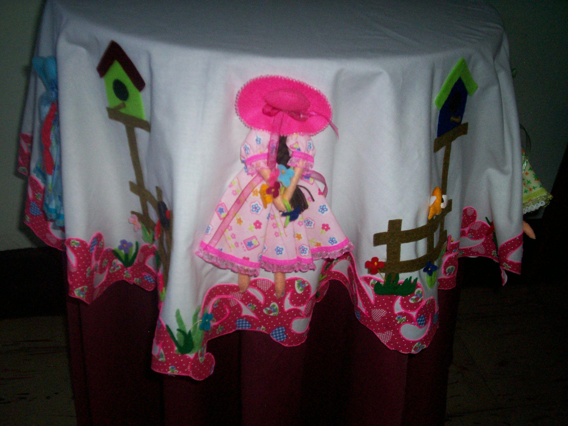 Manteles de crochet para mesas coquetas image - Manteles para mesa ...