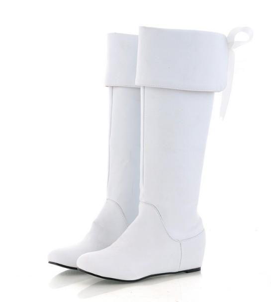 botas femininas cano longo branca 1  432820d6fbf