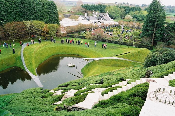 The Garden of Cosmic Speculation, Scotland    The Garden of Cosmic Speculation takes science and maths as its inspiration. Quite simply, there isn't another garden like it in the world.