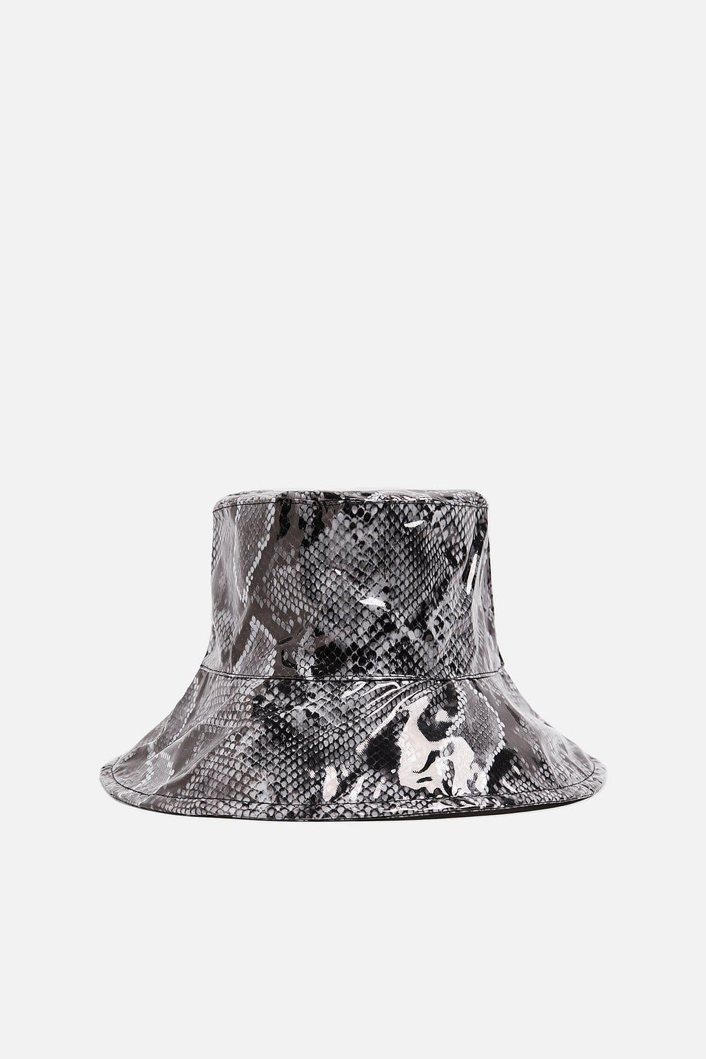 Image 1 Of Leopard Print Rain Hat From Zara Rain Hat Hats Animal Print