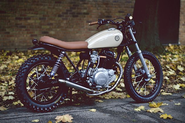 Suzuki 125gn Scrambler Bikes Pinterest Motorräder