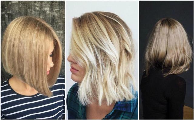 Fryzury Krótkie Blond 2019 Przegląd Najlepszych Propozycji Włosy