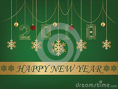 Happy new year greeting card 2018 green backgroun editing available happy new year greeting card 2018 green backgroun editing available in eps 10 m4hsunfo