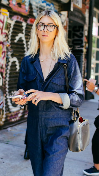 Kelly Connor in an Ayr jumpsuit shot by Phil Oh for vogue.com / NYFW ss 16