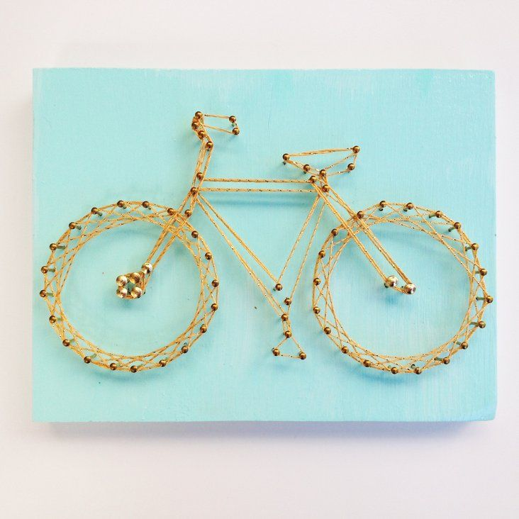 A Summer Bike\' Nail + String Art in Logan Square, Chicago ~ Krrb ...