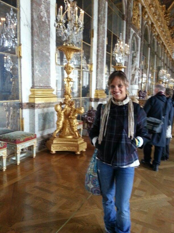 Salon de los espejos Chateau de Versailles