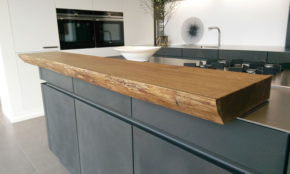 Keuken Van Antraciet : Afbeeldingsresultaat voor houten aanrechtblad antraciet keuken