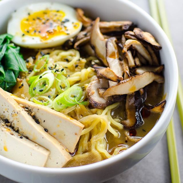 Instagram post by foodgawker foodgawker vegetarian ramen ramen instagram post by foodgawker foodgawker forumfinder Images