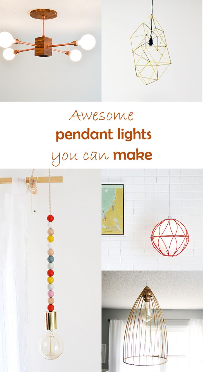 Do It Yourself Lampen 5 Diy To Try Pendant Lighting Do It Yourself Lampen Schirm