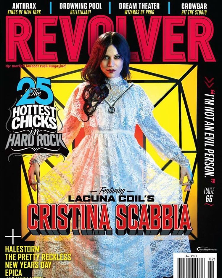"""SO DAMN' THRILLED to be on the cover of the new Revolver magazine!  The whole photoshoot was inspired by Dario Argento's Suspiria (one of my favorite…"""