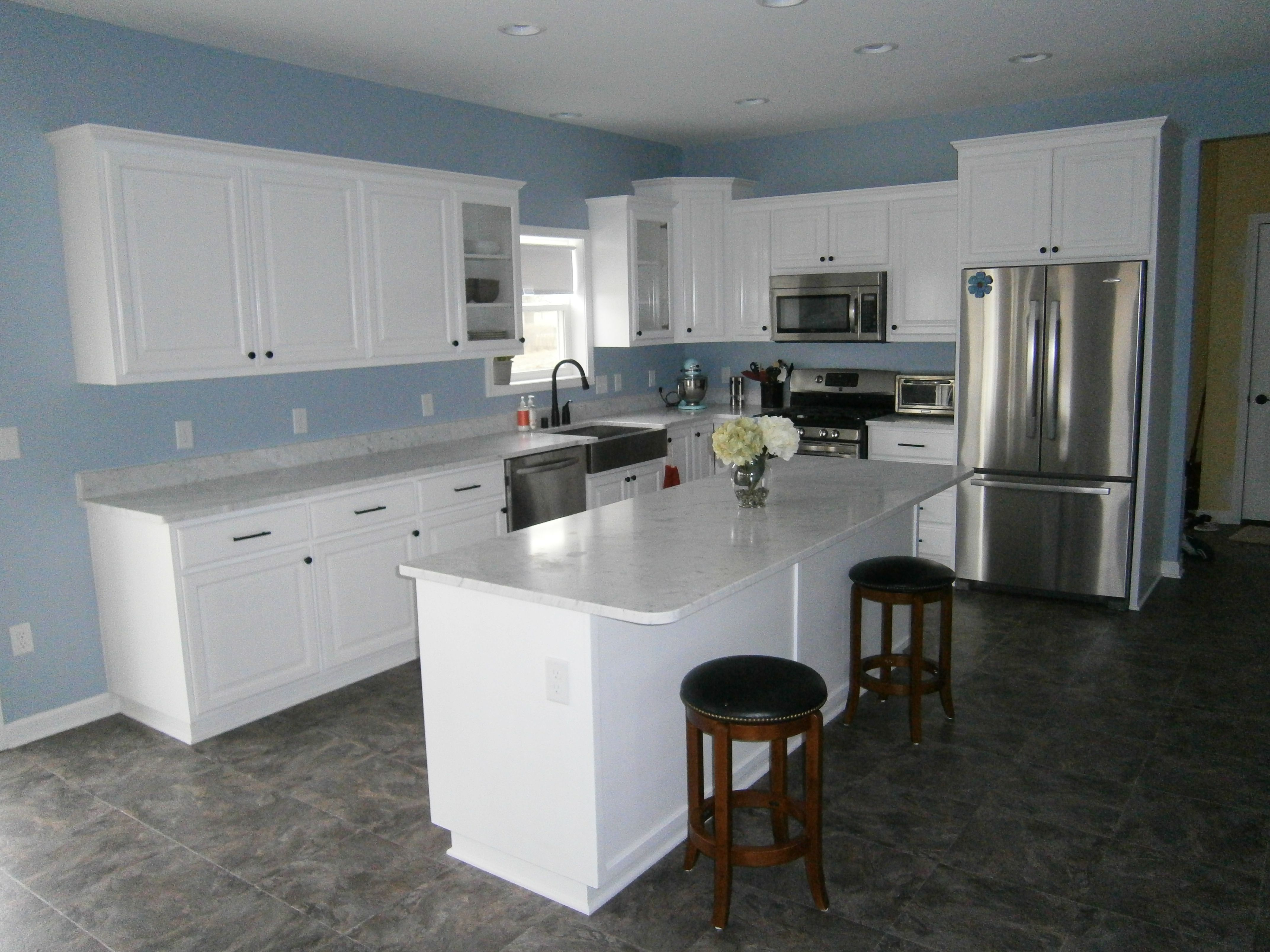 Bathroom Remodeling Milwaukee Exterior a simple color palette really brings this kitchen to life!tek