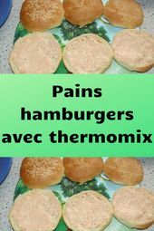 Photo of Hamburger buns with thermomix #recipes # delicious # dishes …