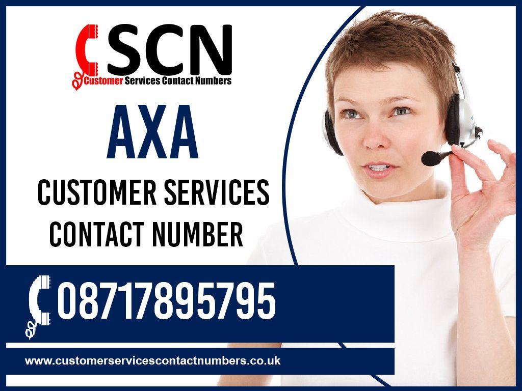 Axa customer services contact number uk 08717895795