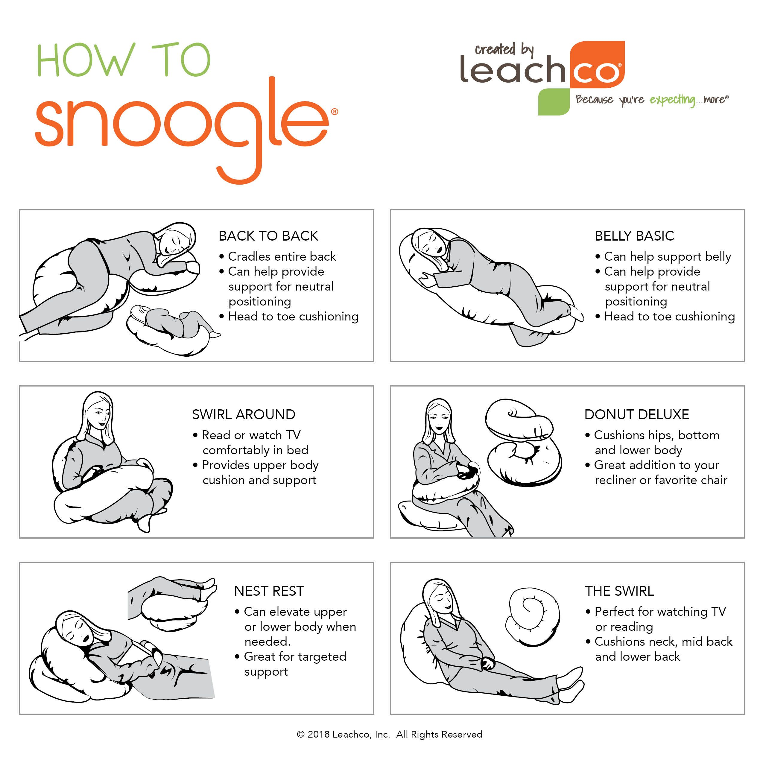 pin on how to use your leachco body pillow