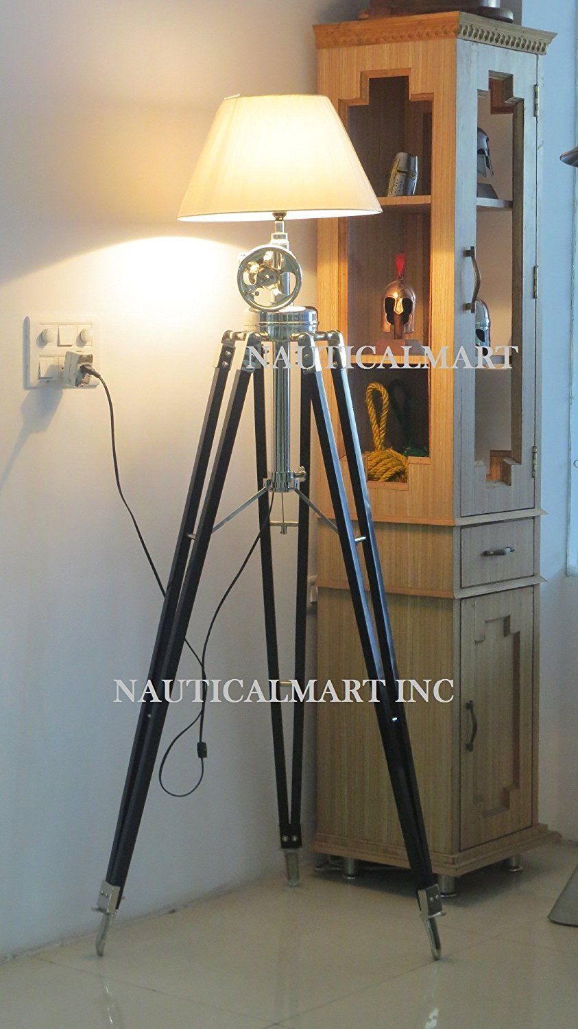 Decorative royal marine tripod floor lamp by nauticalmart amazon decorative royal marine tripod floor lamp by nauticalmart amazon lighting aloadofball Gallery