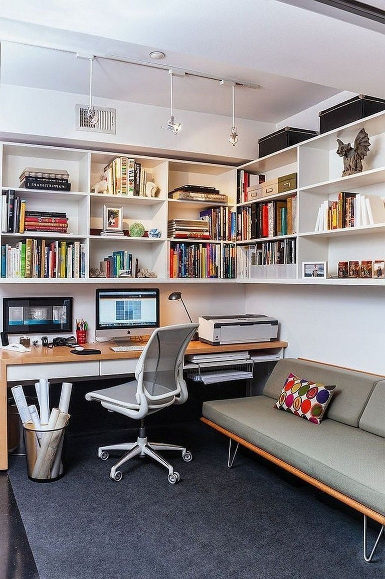 25 small home office ideas for men women space saving on small modern home plans design for financial savings id=76306