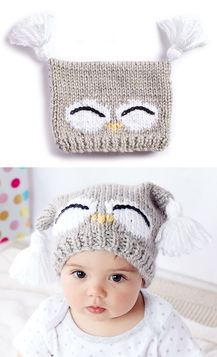 Free knitting pattern for im a hoot hat this pattern for an owl pingl par cmfree knitting pattern for im a hoot hat this pattern for an owl baby hat comes with a free video tutorial bankloansurffo Image collections