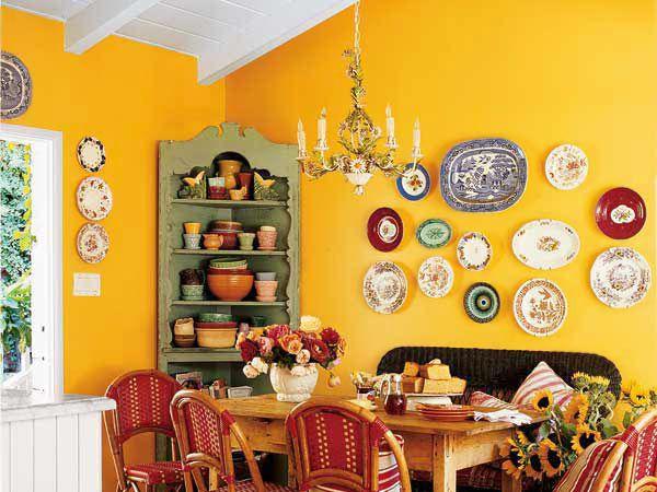 crockery #plates on wall | Architecture & Decor | Pinterest | Warm ...