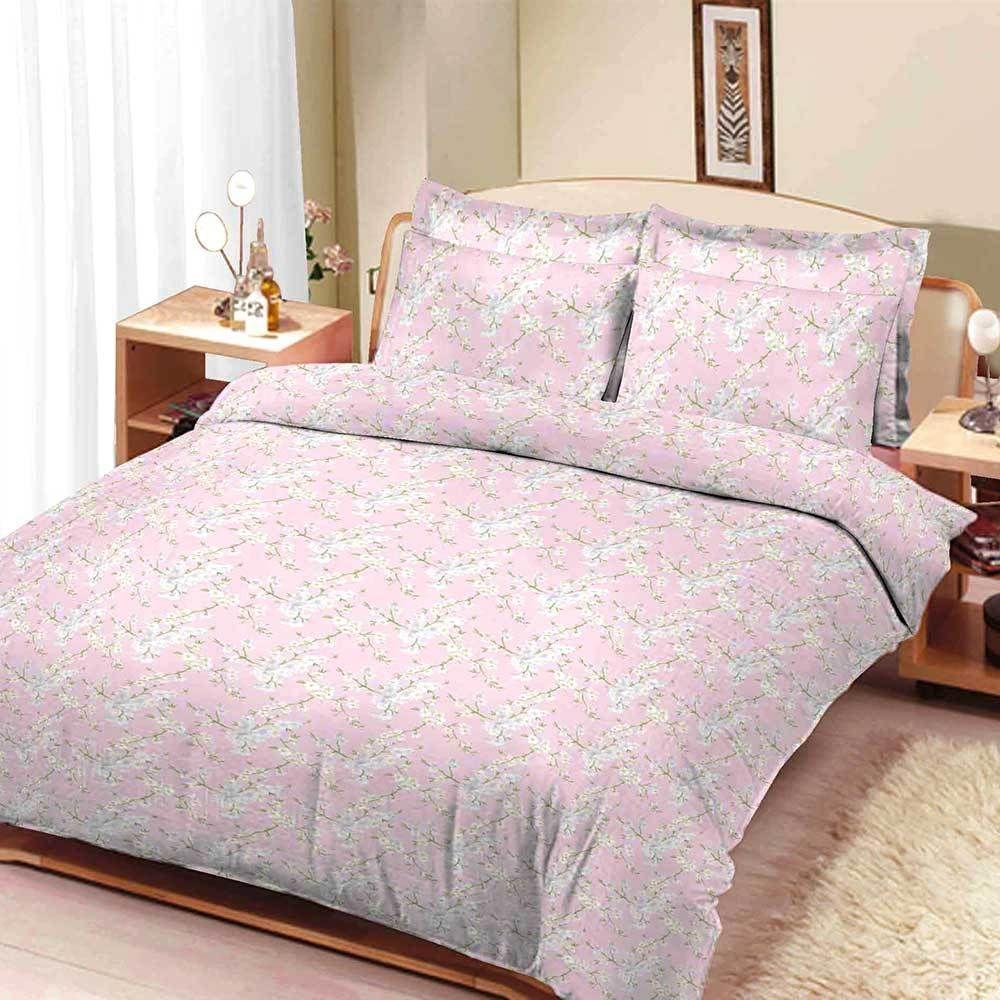 Arc Frankfurt Charming Floral Texture Double Bed Sheet Smallprices Bigbrands Elo4life Exportleftovers Double Bed Sheets Bed Sheets Double Beds