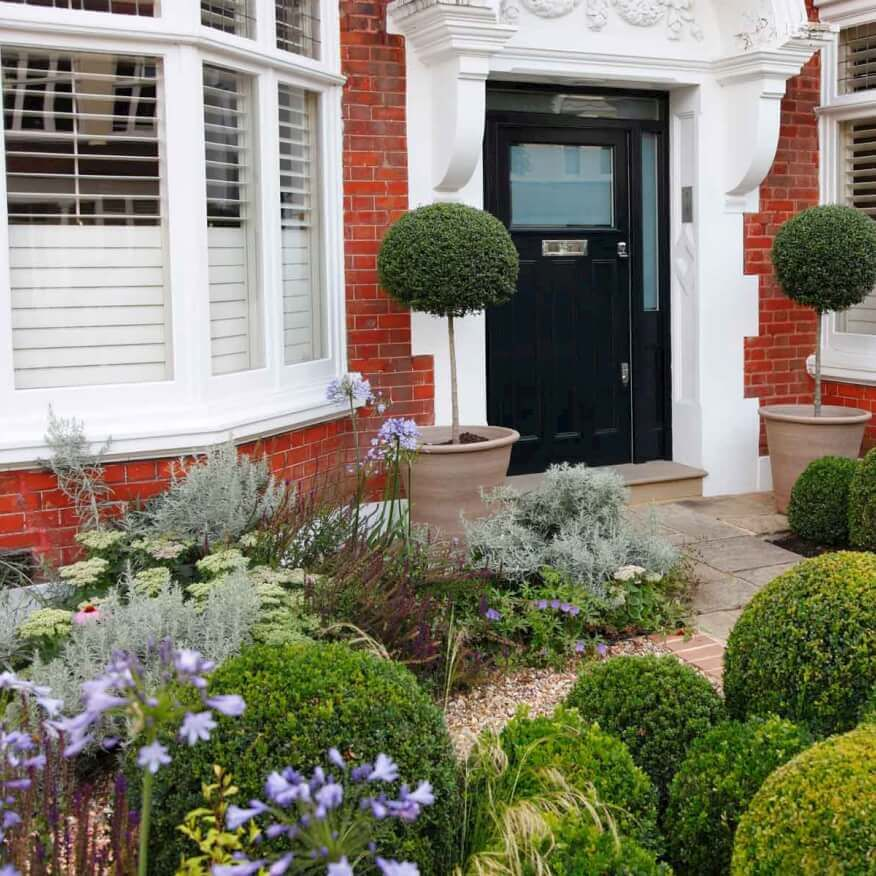 putney flowering front garden - Front Garden Ideas London