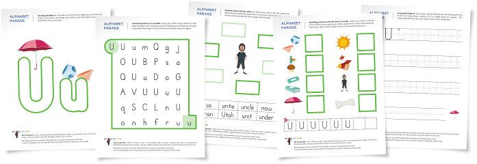 Alphabet parade letter u worksheets and activity suggestions alphabet parade letter u worksheets and activity suggestions pinned by pediastaff please altavistaventures Gallery