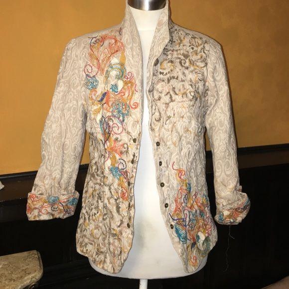 Coldwater creek blazer Blazer with beautiful details size extra small Coldwater Creek Jackets & Coats Blazers