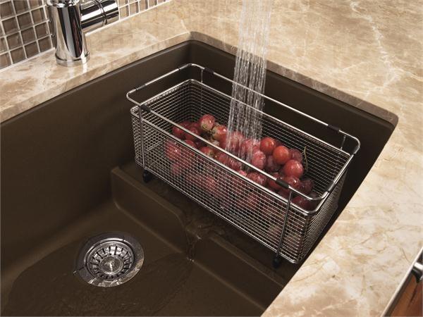 Beautiful Stainless Steel Colanders For Blanco Performa Sink