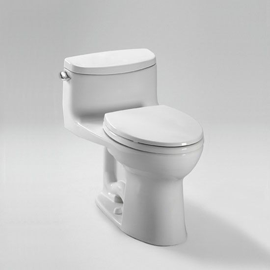Toto Ms634114cefg 01 Supreme Ii One Piece High Efficiency Elongated Sanagloss Toilet In Cotton One Piece Toilets Toto Toilet Bidet Seat